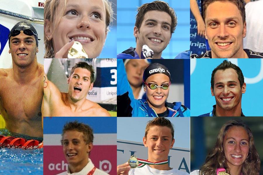 I magnifici 10! Scopriamo gli Azzurri nelle TOP10 2016 della FINA