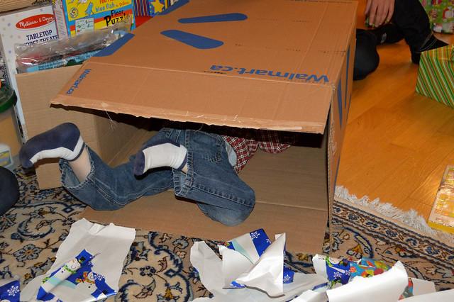 Giant box of presents