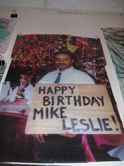 Happy Birthday Mike Leslie  Flickr  Photo Sharing