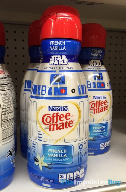 Nestle Coffee-mate Star Wars Limited Edition Pack R2-D2 French Vanilla Creamer
