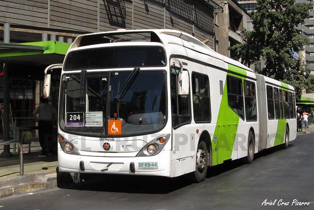 Transantiago - Subus Chile - Marcopolo Gran Viale / Volvo (BFKB44)