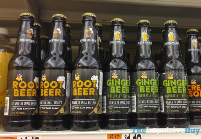 Giant Craft Root Beer and Ginger Beer