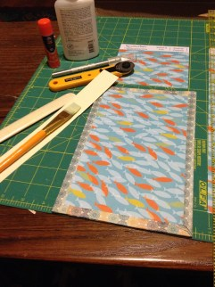 Book boards: Coptic stitch covers