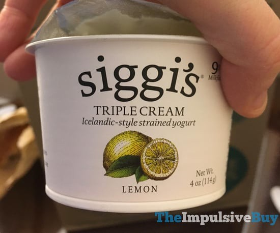 Siggi's Triple Cream Lemon Yogurt