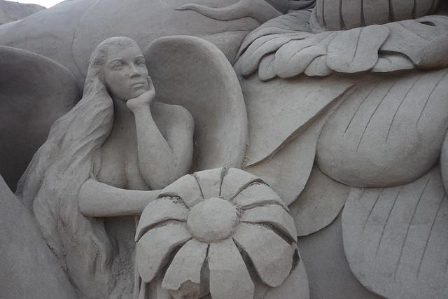 Sirena de arena