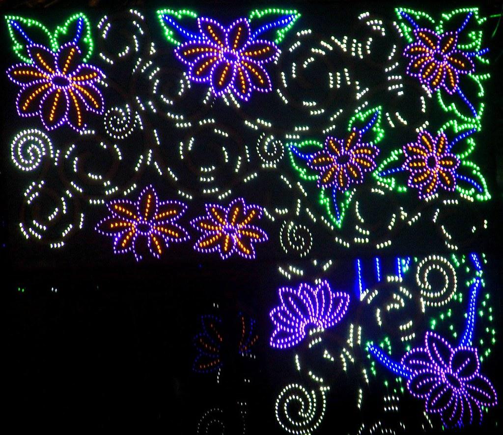 bow barracks christmas lights of calcutta