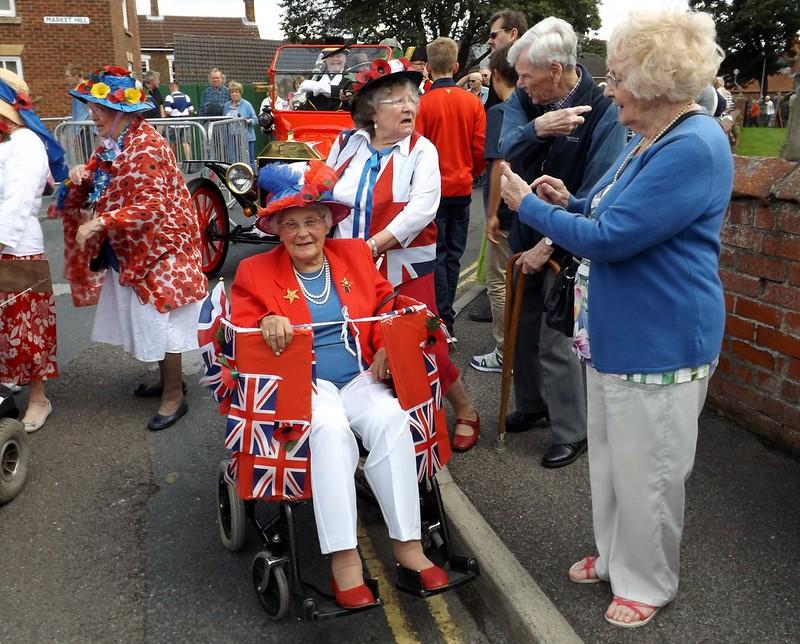 #8 Gladys shows Festival Spirit