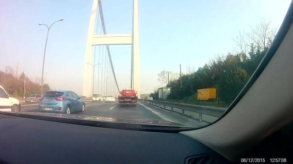 Desde Europa a Asia por el segundo puente del Bósforo