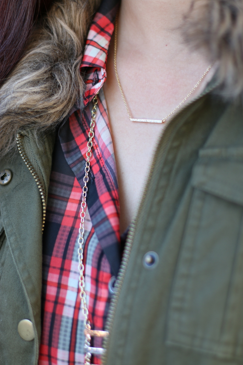 Plaid-Fall-Outfit-barse-jewelry-necklace-6