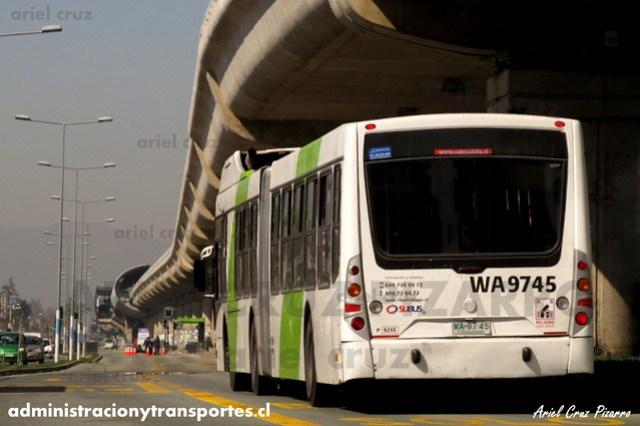 Transantiago - Subus Chile - Caio Mondego LA / Volvo (WA9745) (9255)