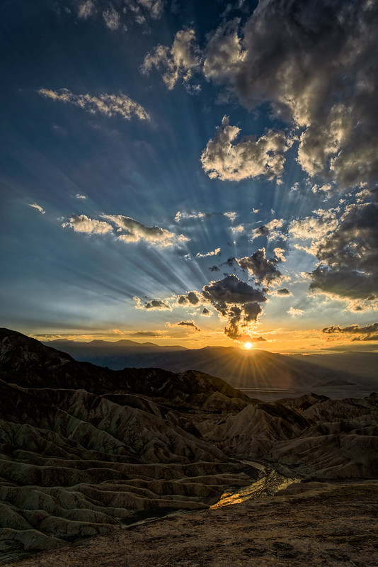 Death Valley Sundown