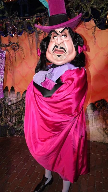 Gov. Ratcliffe at Disneyland Halloween Party