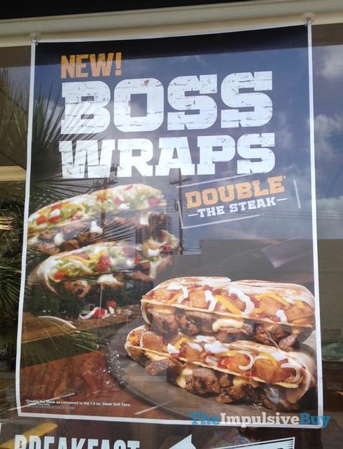 FAST FOOD NEWS: Taco Bell Fully Loaded Steak and Steak & Potato Boss Wraps
