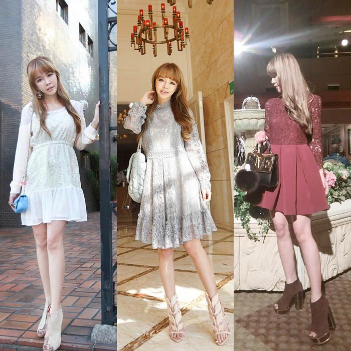 冬天喜宴洋裝穿搭| - 綠蟲網 - BidWiperShare.com