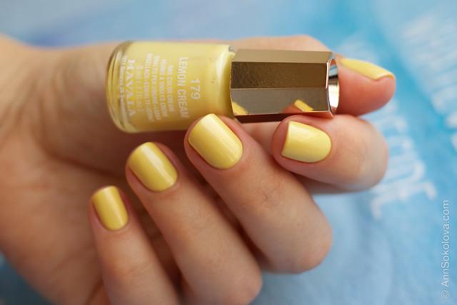 03 Mavala #179 Lemon Cream