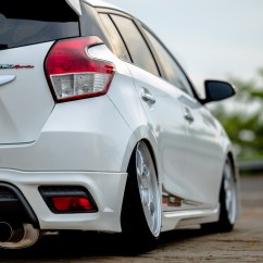 Toyota Yaris Trd Putih Grand New Veloz 1.5 Silver Gettinlow Modifikasi 2014 Milik Nasrul Dari