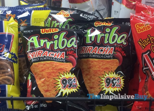 Old Dutch Arriba Sriracha Tortilla Chips