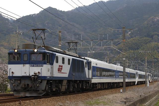 EF64-1033 + Series 371 Transfer for Fuji-kyu