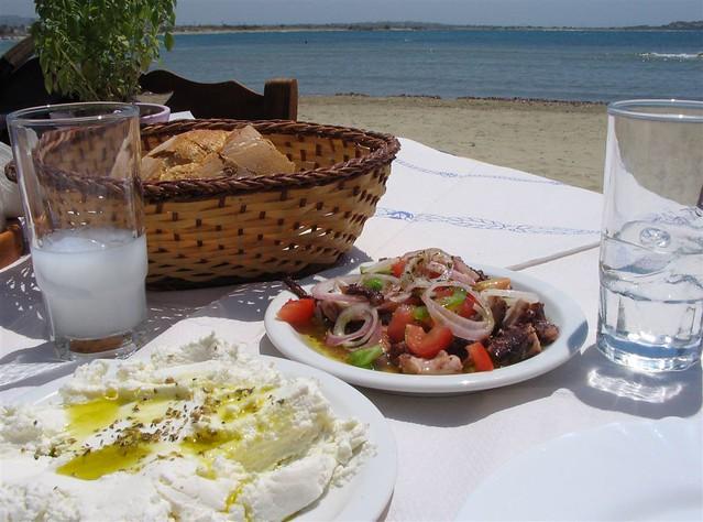 Greek Food And Drink