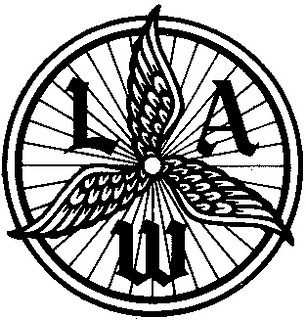 League of American Wheelmen Logo 1880