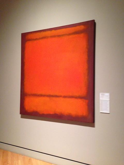 Mark Rothko, No. 210/211 (orange)