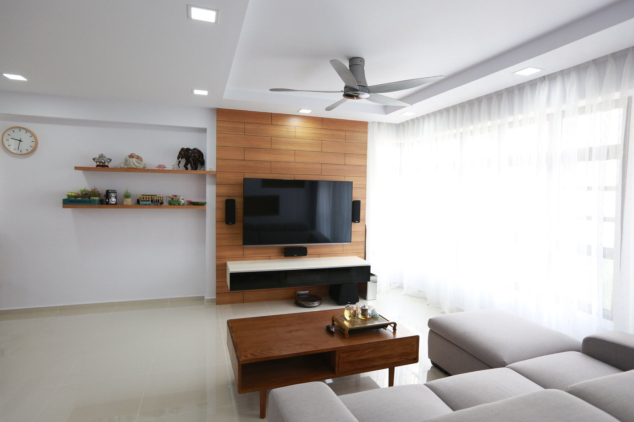 simple false ceiling design for small living room art prints freb's 5 renovation journey - reno t-blog chat hdb ...