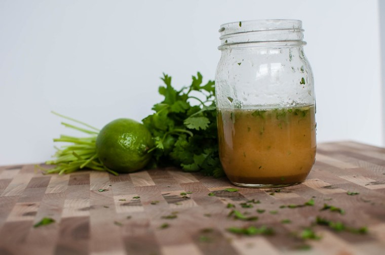 Honey Lime Cilantro Vinaigrette 7