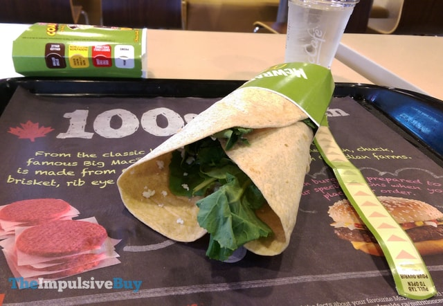 McDonald's Kale & Feta More-Ning McWrap
