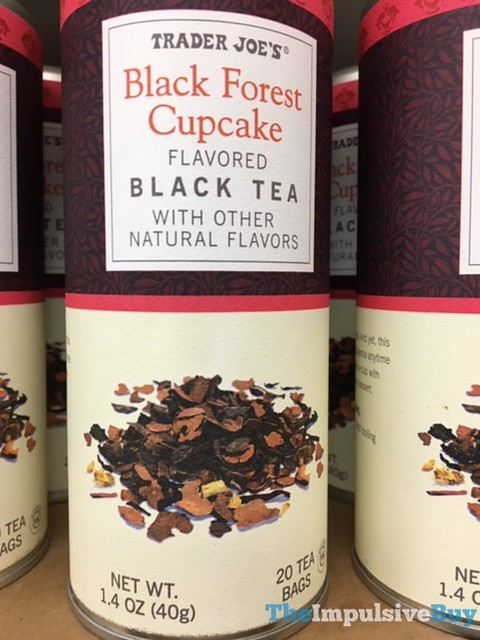 Trader Joe's Black Forest Cupcake Black Tea