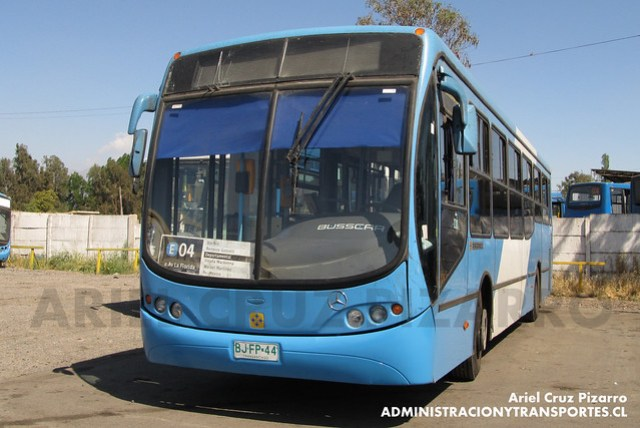 Transantiago - Unitran - Busscar Urbanuss Pluss / Mercedes Benz (BJFP44)