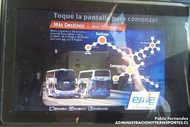 Entretenimiento Eme Bus - Suite Cama