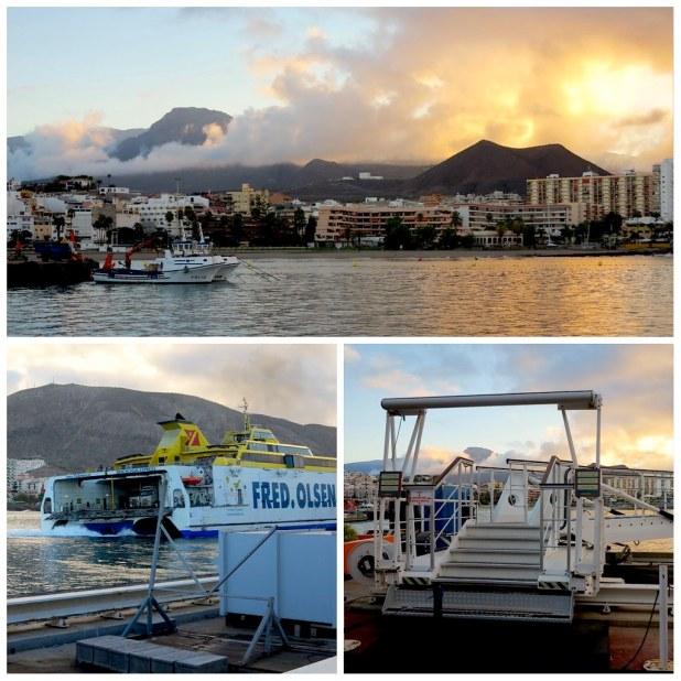 Ferry Fred Olsen a La Gomera