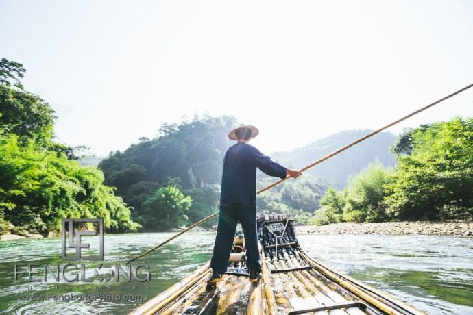 Summer Vacation Blog | China 2015 Day 7 | Wuyi Rafting & Heaven Traveling Peak