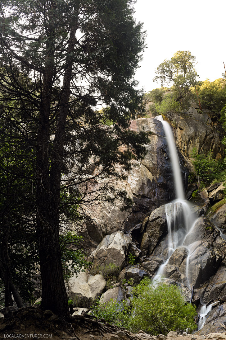 Grizzly Falls Kings Canyon National Park California.
