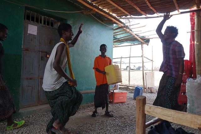 エチオピアのダンス