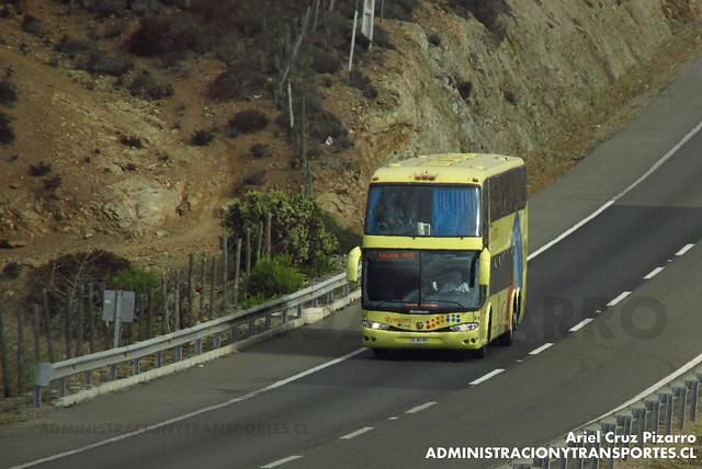Romani - Norte Chile - Marcopolo Paradiso 1800 DD / Scania (CFWD96)