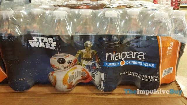 Niagara Star Wars Purified Drinking Water