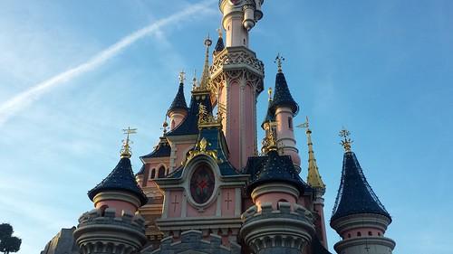 Het kasteel van sleeping beauty
