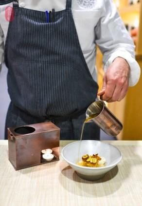 7th Course: Chestnut Steam Cake