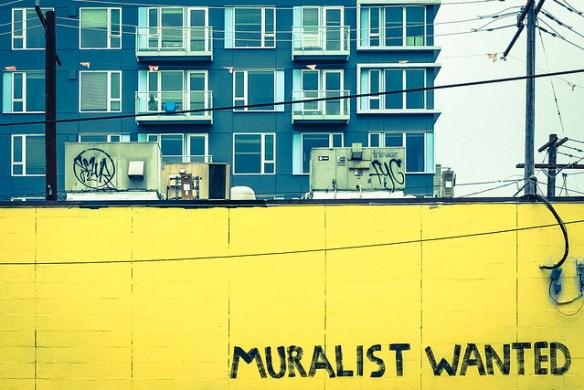muralist wanted? na