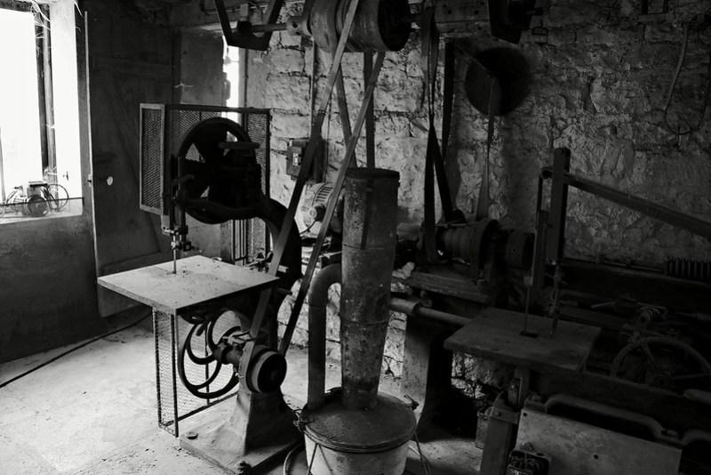 Moulin d'Argentenay - Atelier bois
