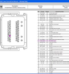 ford pcm wiring diagram [ 1024 x 817 Pixel ]