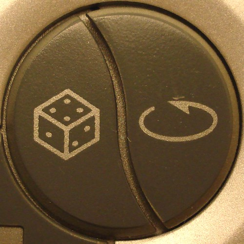 Shuffle/repeat button