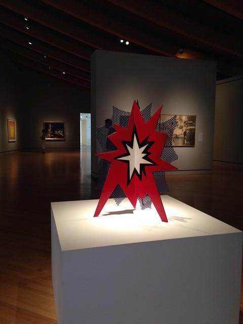 Roy Lichtenstein: Standing Explosion (Red)