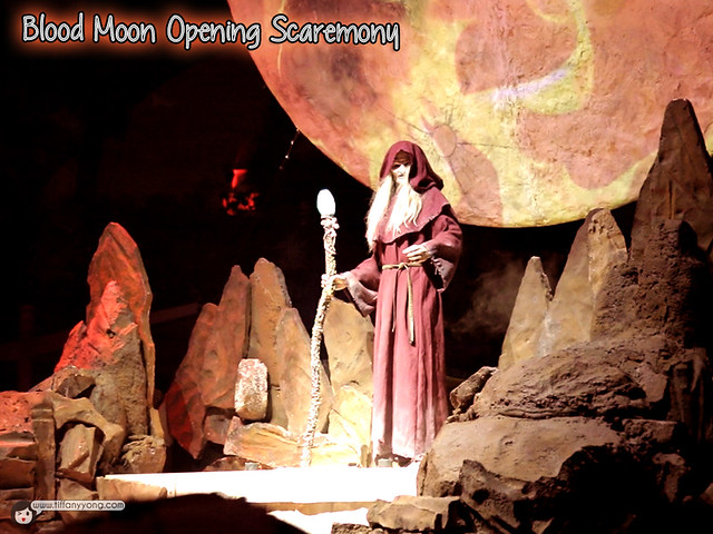 HHN5 Bood Moon Scaremony