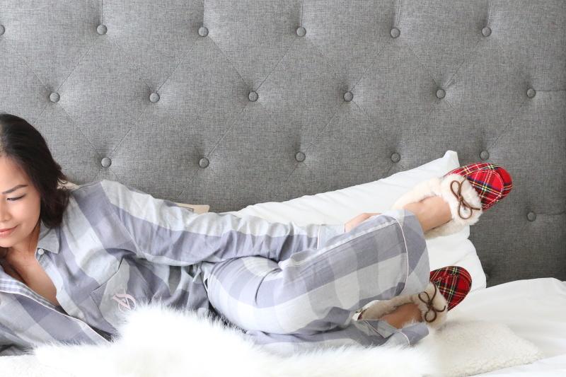 Vionic-Shoes-plaid-slippers-loungewear-4