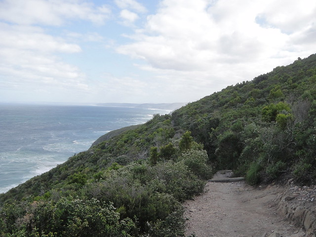 hike along escarpment day 3 otter trail