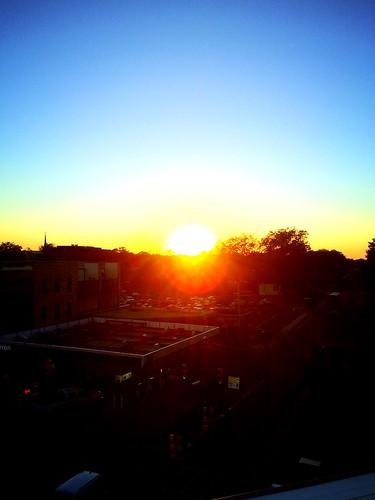 1915 Oxford Sunset