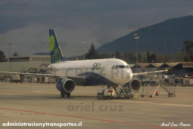 Sky Airline - Santiago (SCL) - Airbus A319 CC-AFY