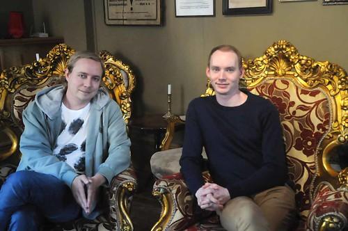 Sebastian Andersson och Isak Wernhoff